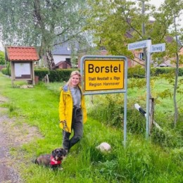 Station 10 in Bostel meinem Heimatort