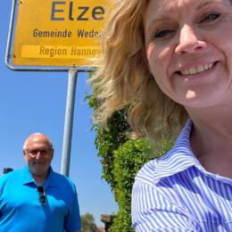 Mit Walter Zychlinski in Elze unterwegs