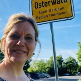 Rebecca unterwegs in Osterwald