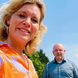 Rebecca unterwegs in Heeßel gemeinsam mit Björn Sund