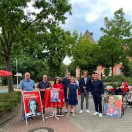 Die SPD ist vor Ort und ansprechbar.