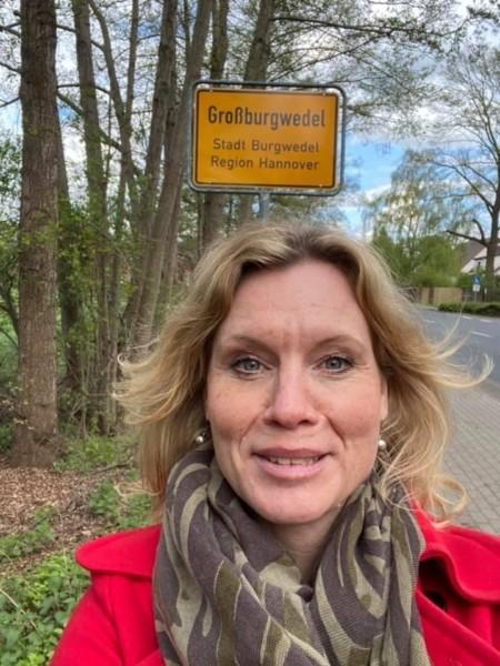 Rebecca Schamber unterwegs im Wahlkreis