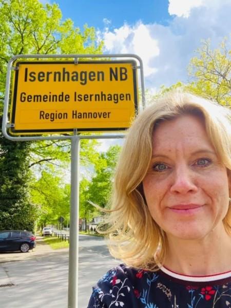 Rebecca unterwegs in Isernhagen NB