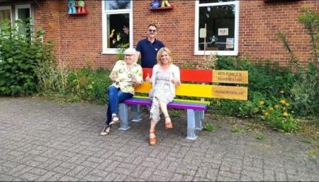 """Unterstützung Projekt """"Regenbogenbänke in der Wedemark"""""""