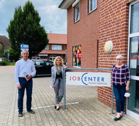 SPD Besuch Jobcenter Burgwedel