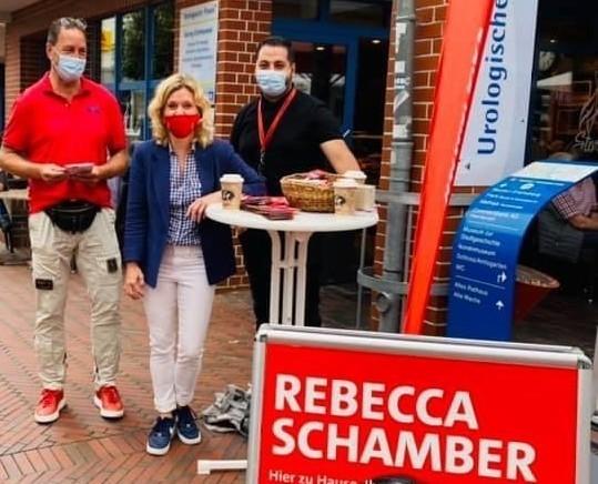 Rebecca unterwegs in Neustadt a.R.