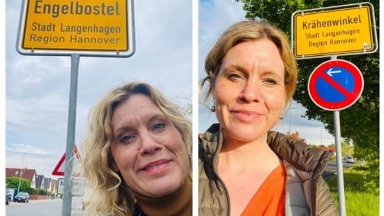 """""""Rebecca unterwegs"""" in Engelbostel und Krähenwinkel"""