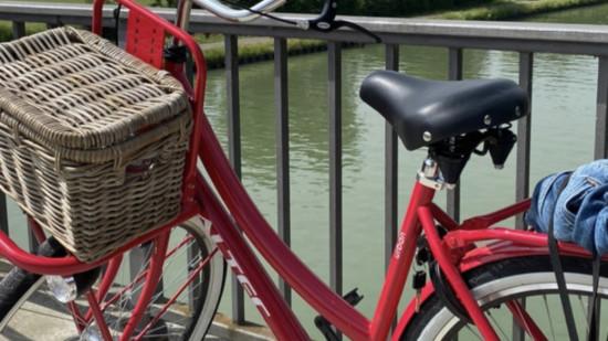 Radtour Rebecca unterwegs