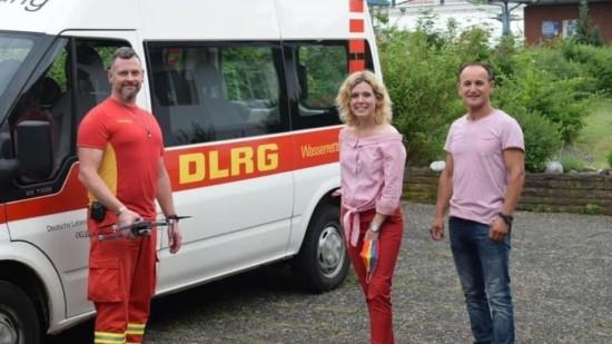 Besuch der DLRG Ortsgruppe Wedemark