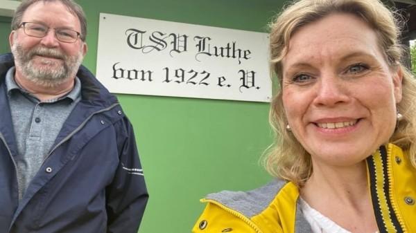"""Rebecca unterwegs"" in Luthe"